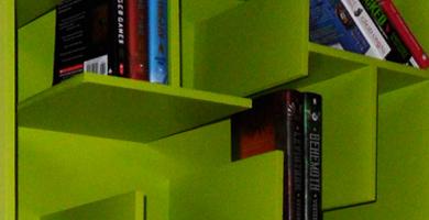 Vellum – A-MAZE-ing Bookshelf